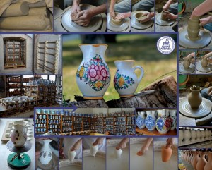 Slovak folk pottery and wine tasting